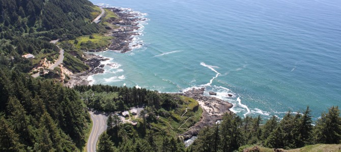 Unverhofft kommt oft: Cape Perpetua