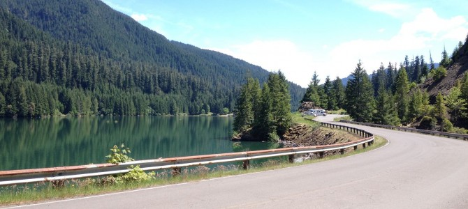 Auf in die Berge! McKenzie River und Cougar Reservoir